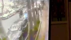 اولین فیلم از لحظه حمله سارقان به علی دایی