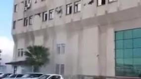 ریزش ساختمان در زلزله ترکیه