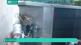 کولر گازی پنجره ای   کار با ریموت کنترل کولر گازی