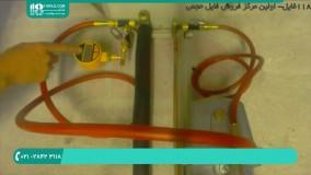 طریقه باز و بسته کردن قطعات و اتصالات پنل و کندانسور کولر گازی