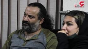 مواجهه حضوری دختر مهراب قاسم خانی با سارق قمه کشی