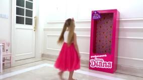 دیانا عروسک می شود ؛ بازی جدید دیانا و روما