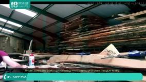 روش استفاده از قالب از جنس ( چوبMDF ) در ساخت میز رزینی
