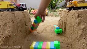 ماشین بازی ؛ اسباب بازی کودکانه : عبور از کوهستان