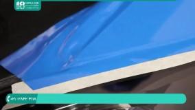 روش چسباندن کاور بر روی قسمت گلگیر خودرو