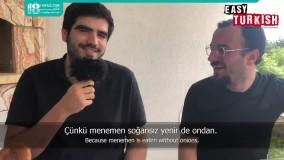 زبان ترکی استانبولی   یادگیری اسامی و ضمایر شخصی