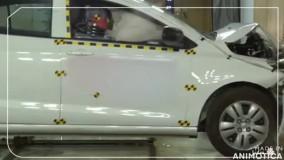 آزمون جالب سیستم ایربگ خودرو شاهین