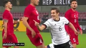 خلاصه بازی آلمان 3 - ترکیه 3