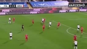 گل های دیدار ایتالیا 6 - مولداوی 0
