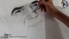 اثر هنری فوق العاده از محمد رضا شجریان