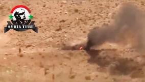 کمین ارتش سوریه برای تروریست ها در شهر القصیر