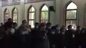 فیلمی از اقامه نماز بر پیکر استاد محمدرضا شجریان
