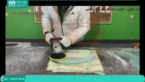 ساخت میز رزین اپوکسی مدل شیشه ای مناسب آشپزخانه