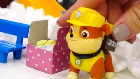 بازی با اسباب بازی ؛  عروسک سگ های نگهبان