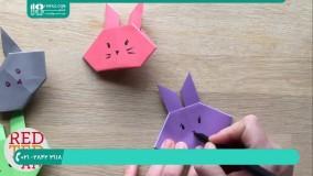 چگونگی ساخت اوریگامی گل لاله