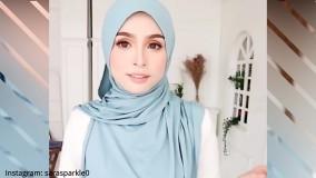 مدل و ایده های بستن شال روسری