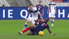 خلاصه بازی فرانسه ۰ - فنلاند ۲