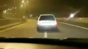 خفت گیری ترسناک در اتوبان تهران - شمال