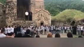 مراسم ویژه خداحافظی ارامنه از شهرهای اشغالی قره باغ جمهوری آذربایجان