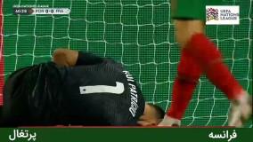 خلاصه بازی پرتغال 0 - فرانسه 1