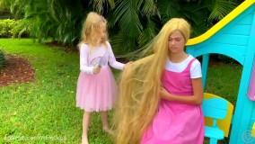 ناستیا و استیسی ؛  رنگ کردن موها