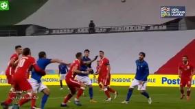 خلاصه بازی ایتالیا 2 - لهستان 0
