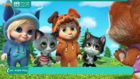 تقویت زبان انگلیسی کودکان با تماشا انیمیشن دیو و اوا