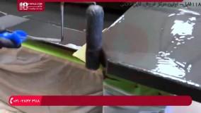 ساخت سنگ کابینت مقاوم با رزین اپوکسی