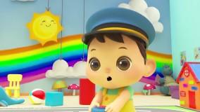 انیمیشن و ترانه انگلیسی برای کودکان ؛ چرخ های اتوبوس