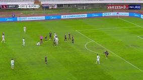 خلاصه بازی کرواسی ۲ - پرتغال ۳