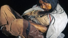 کشف جسد سالم یک دختر نوجوان بعد از ۵۰۰ سال