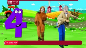 آموزش اعداد انگلیسی با انیمیشن برای کودکان زیر 7 سال