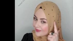 مدل های بستن شال روسری