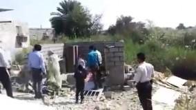 تخریب خانه یک زن سرپرست خانوار در بندرعباس