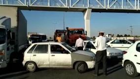 ترافیک سنگین در ورودی و خروجی مشهد