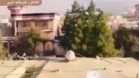 اصابت موشک به شهر کابل