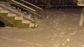 بارش سنگین برف در پیست بین المللی اسکی دیزین