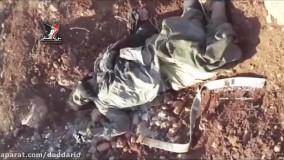 هلاکت نیروهای خط شکن تکفیری ها در کمین ارتش سوریه