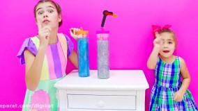 ناستیا و میا ؛ استیسی و  عروسک های بامزه ناستیا