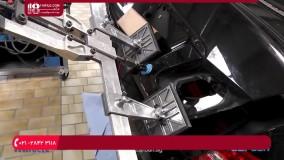 آموزش صافکاری صندوق عقب قسمت چراق خطر خودرو