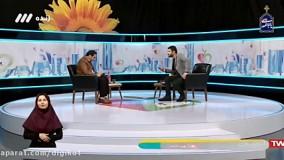 سوتی مجری برنامه طبیب در پخش زنده صدا و سیما