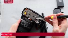 دوربین عکاسی | تشریح مدار صفحه کلید و Roller jack