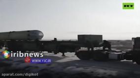 تصاویری از آزمایش سامانه جدید موشکی ضد بالستیک روسیه