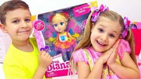دیانا و روما جدید ؛  عروسک های دیانا در فروشگاه