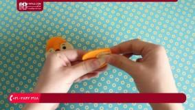 آموزش دوخت عروسک سنجاب برای جاکلیدی