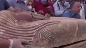 باز کردن در تابوت ۲۵۰۰ ساله برای اولین بار