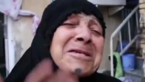 اعتراض زن ماهشهری به آبگرفتگی در شهر