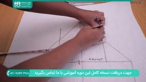 آموزش دوخت آستین سه ربع یا النگویی همراه با الگو