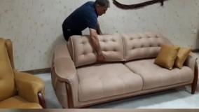 مبل تختخوابشو چوبی