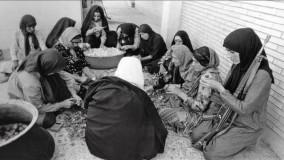 یادبود جانفشانی زنان و مردان ایرانی در جنگ از گروه فرهنگی گرزمان